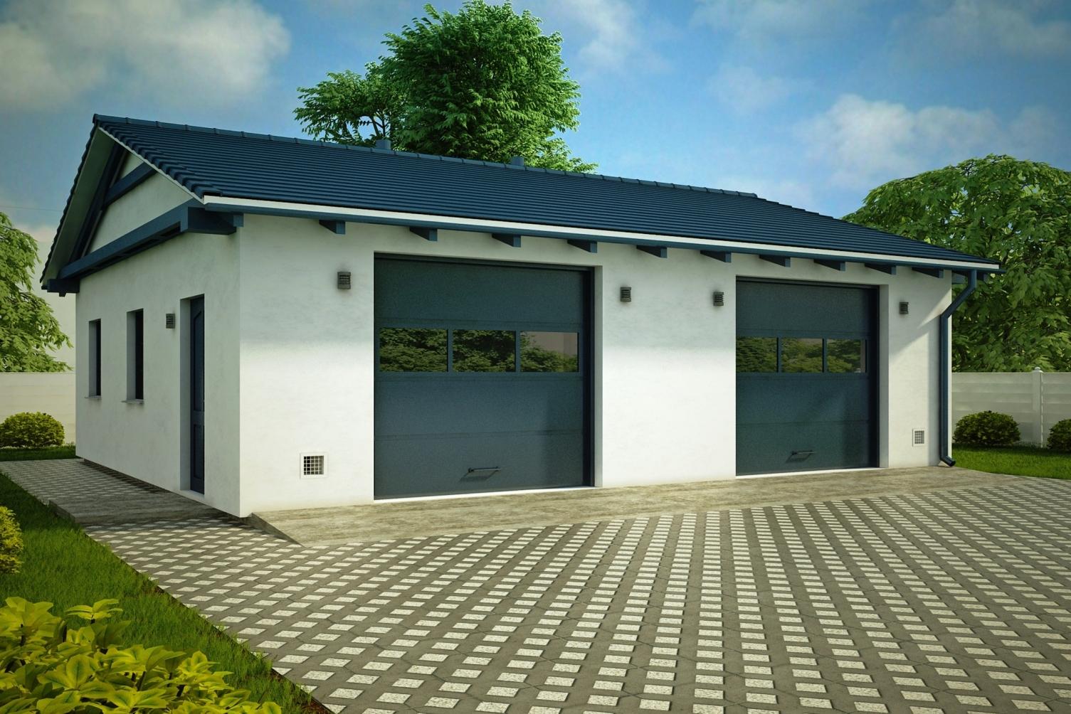 Строительство гаражей под ключ в Саки